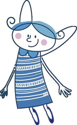 angelito azul